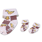 For Baby's socks,Turn cuff -For Baby´s