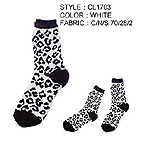 For Lady's socks,Baroque-Leopard Socks